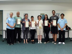 New TCHI Instructors Trained in April 2019